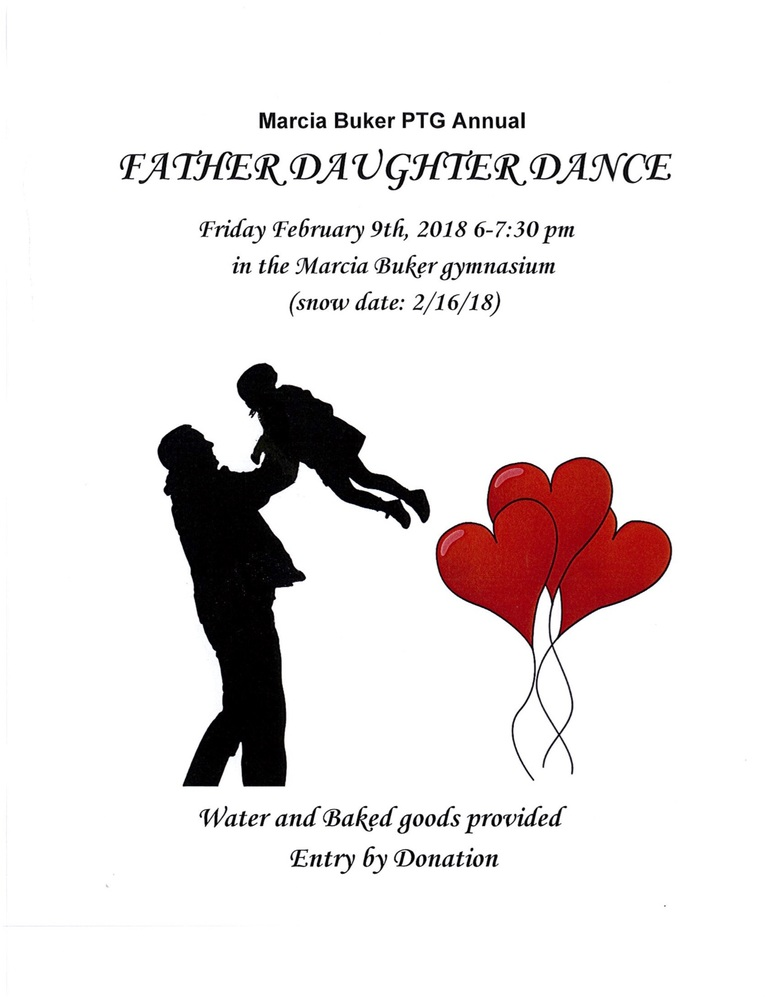 Father-Daughter Dance Friday, February 9th