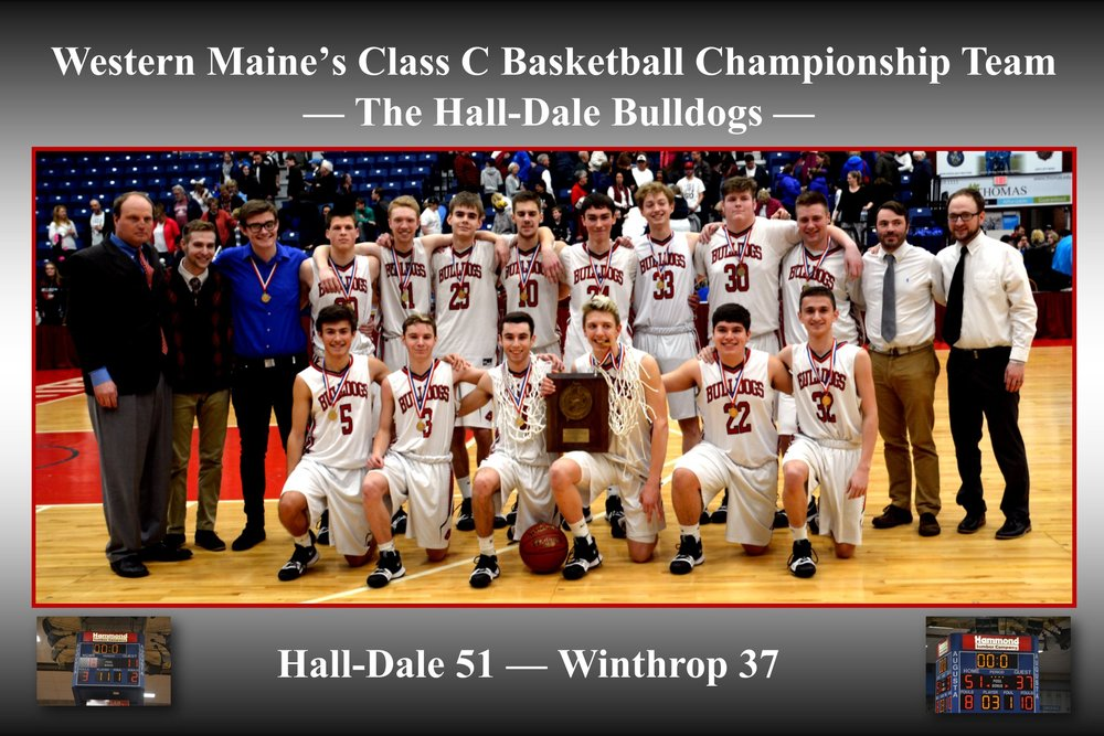 Hall-Dale unseats Winthrop as Southern Maine Champion