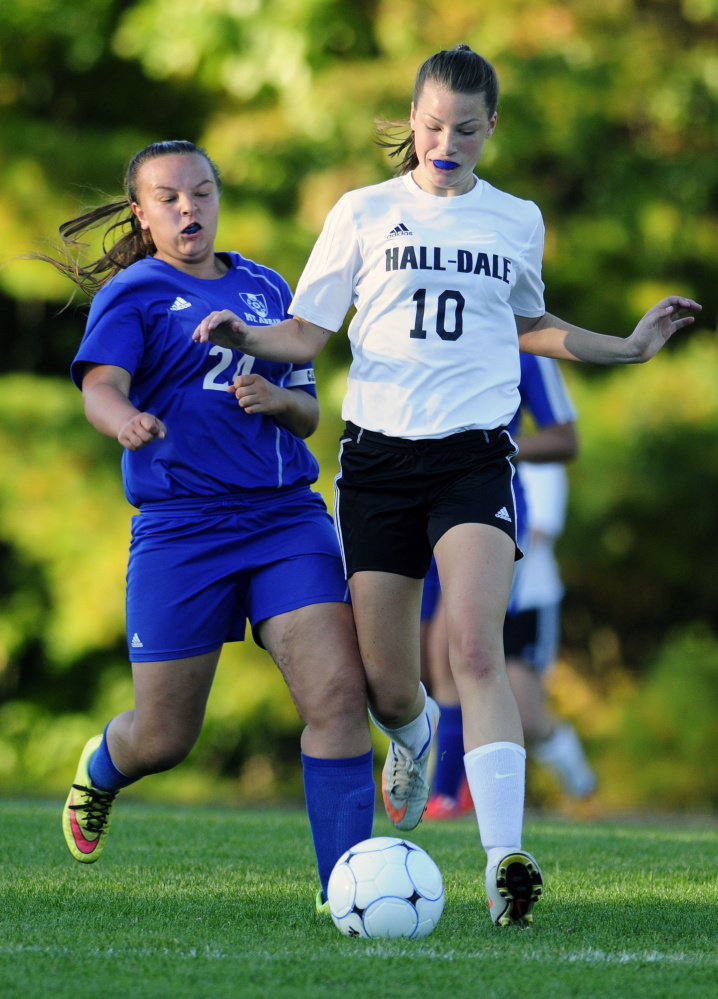 Hall-Dale Girls Soccer moves to 2-0