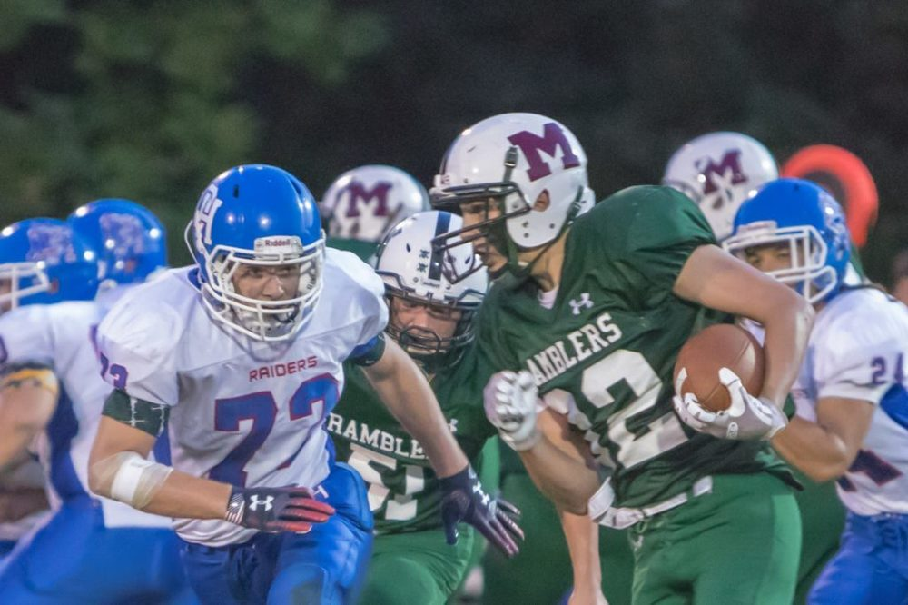 High school football notebook: Winthrop/Monmouth/Hall-Dale makes strides despite loss to Wells