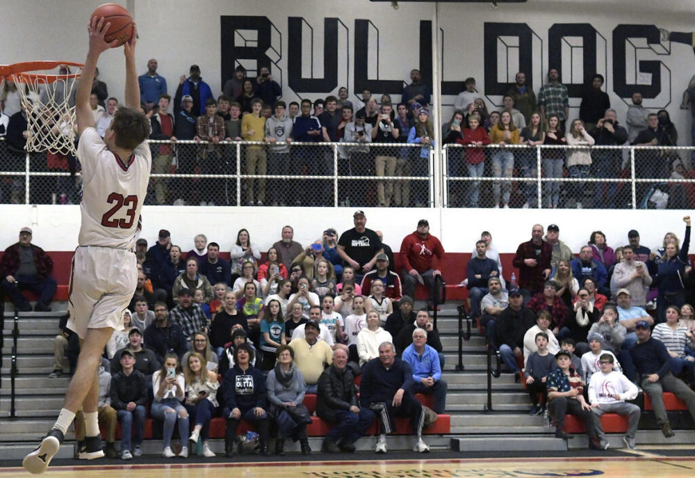 Hall-Dale's Abbott eclipses 1000 points