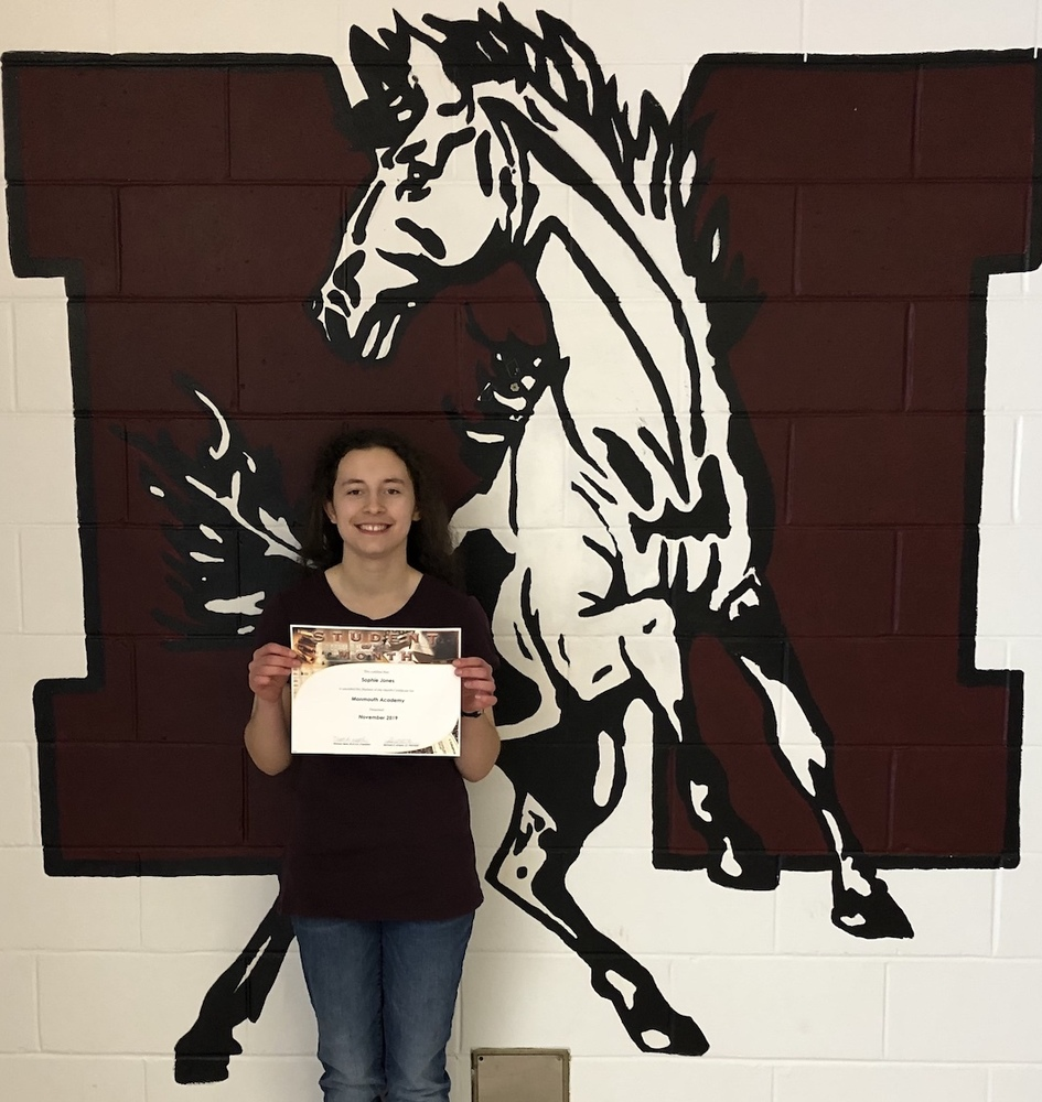 Sophie Jones Selected M.A. November Student of the Month