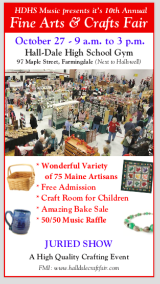 Hall-Dale Music hosts annual craft fair
