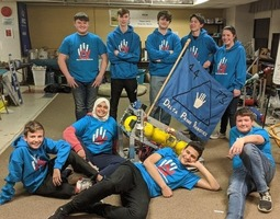Robotics Team Engineers Community Service