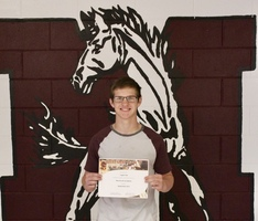 Logan Farr Selected as September Student of the Month
