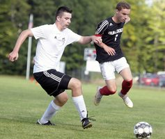 Hall-Dale Boys Soccer moves to 2-0 by blanking rival Monmouth