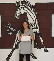 Kaitlin Hunt Selected as MA October Student of the Month