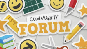 Community Forum Invitations