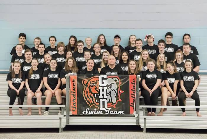 The Gardiner-Hall-Dale Swim Team