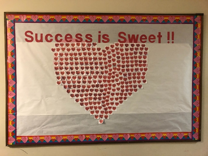 Students celebrating success!