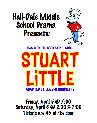 Come join our MS performance of Stuart Little