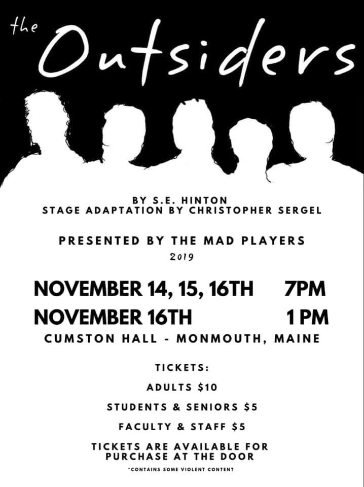 MAD Players 2019 Fall Production
